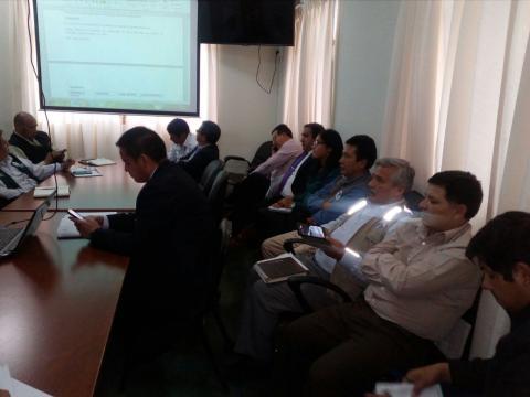 MCLCP Apurímac participa en reunión de la Plataforma de Defensa Civil
