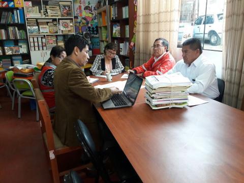 MCLCP Apurímac es parte del comité evaluador del proceso regional de evaluación de  postulantes a palmas magisteriales.