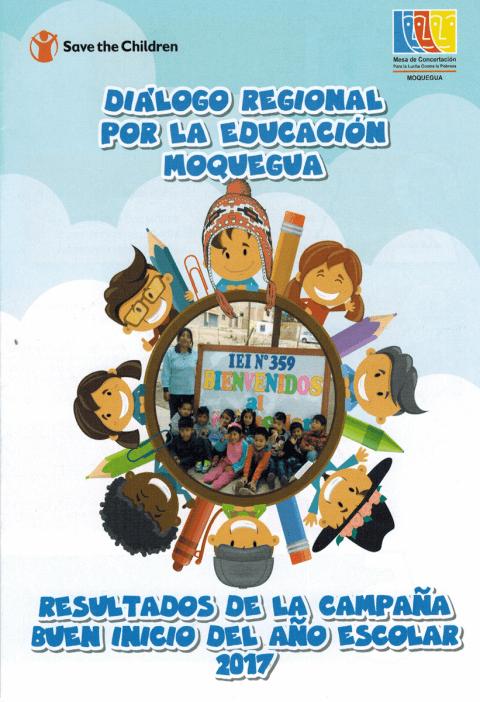 Mesa de Concertación Moquegua presentará resultados de la Campaña por el Buen Inicio del Año Escolar 2017