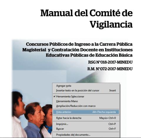 La MCLCP Apurimac participa como veedor en la aplicación de la Prueba Única Nacional para la contratación de docentes en IIEE de Educación Básica 2017