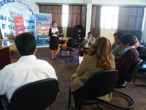 MCLCP Apurímac promueve participación del COPARE en el seguimiento concertado