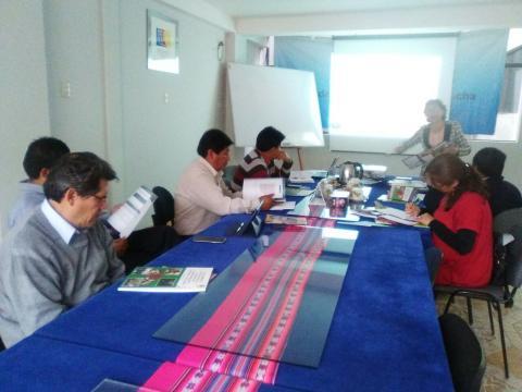 MCLCP Apurímac realiza la primera reunión con el grupo de seguimiento concertado sobre el agua potable