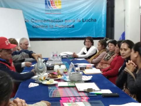 MCLCP - Apurímac dio a conocer al viceministro de la Mujer y Poblaciones Vulnerables los avances y propuestas para el mejoramiento de los programas sociales en la Región