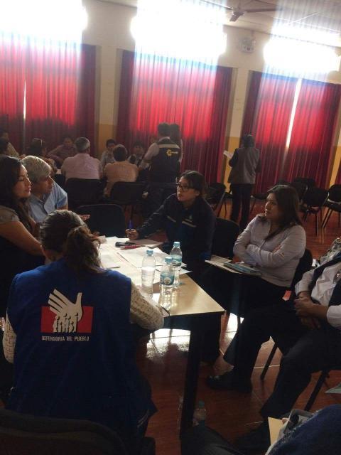 MCLCP Moquegua participó en primera reunión de la Red de Alerta Temprana de conflictos socioambientales