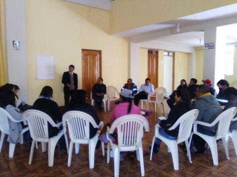 La Experiencia de la MCLCP Apurímac con la Mesa Provincial de Chincheros