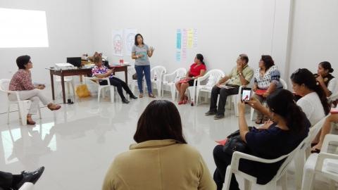 Taller de prevención de la violencia contra mujeres, adolescentes y jóvenes de Ucayali