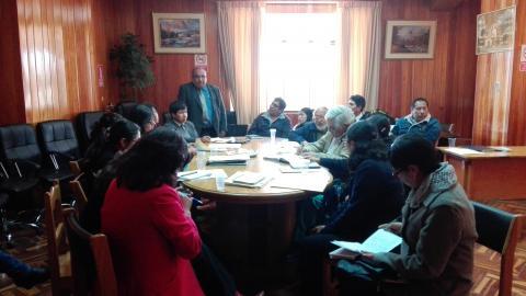 MCLCP provincial de San Román conformó grupo de seguimiento  la anemia
