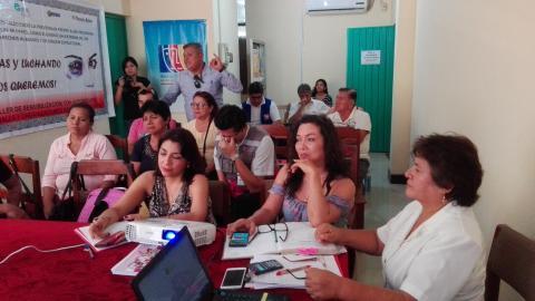 Grupos de seguimiento concertado presentan reporte de salud y Buen Inicio del Año Escolar.