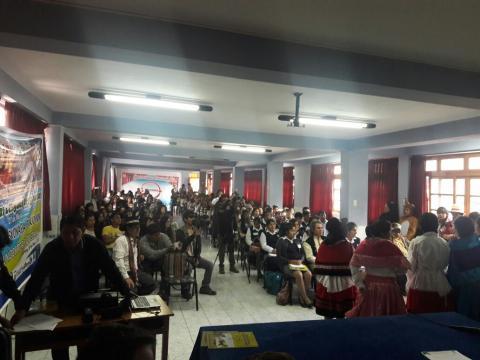 MCLCP Apurímac participa en Encuentro Juvenil por el día de las Lenguas Originarias