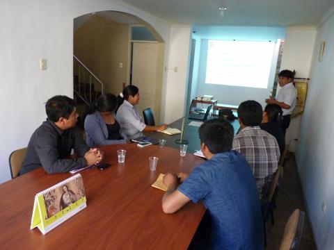 Mesa de Concertación se reúne con subprefectos de Candarave para promover la reactivación de la Mesa en la provincia