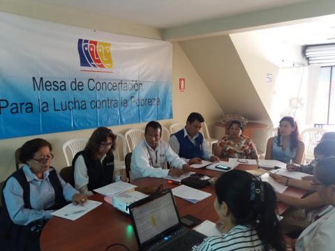 Reunión del Grupo de Seguimiento Concertado- Dimensión Social.