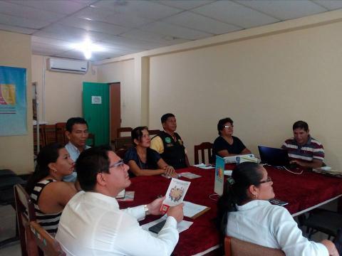 Fortalecimiento de la Mesa de Concertación para la Lucha Contra la Pobreza del distrito de Yarinacocha