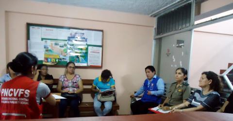 Reinstalación de la Mesa de Concertación en la Provincia de Leoncio Prado en Tingo María, Huánuco
