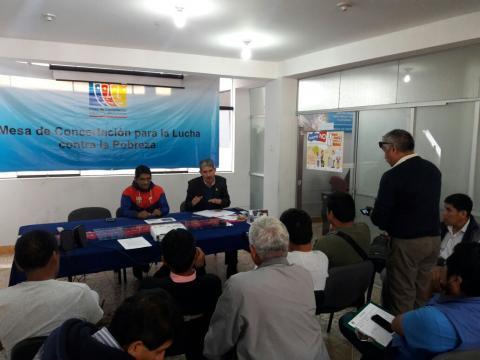 """En Conferencia de Prensa se realizó Lanzamiento de la Campaña de Educación Ciudadana por la Integridad de los Apurimeños – Prevengamos la Corrupción"""""""