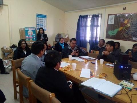 """Reunión """"Unidos para combatir la anemia"""" en la provincia de San Román"""