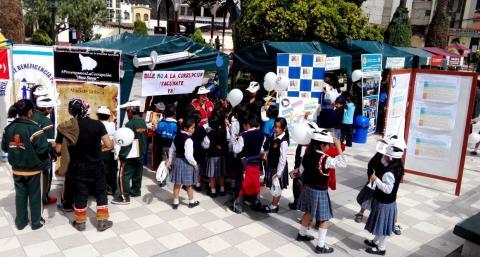 Apurímac promueve la transparencia y educación ciudadana con feria y movilización Ama Suwa