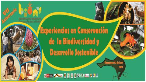 """Seminario """"Experiencias en Conservación de la Biodiversidad y Desarrollo Sostenible"""""""