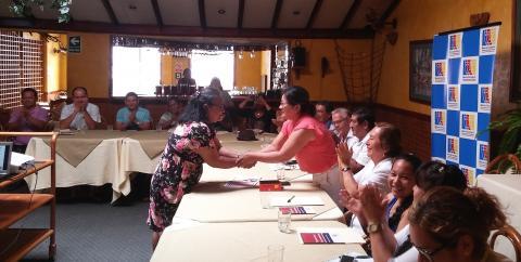 Ratificaron en su cargo a coordinadora de la MCLCP de Loreto para el periodo 2017- 2019