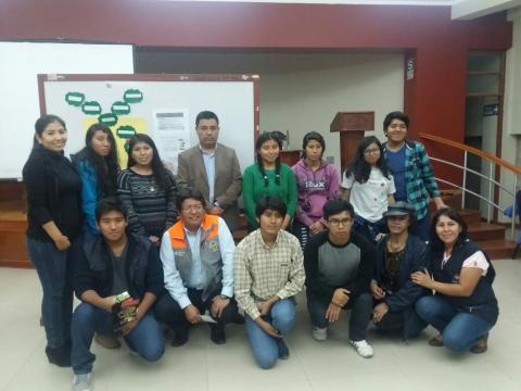 Taller informativo a líderes de organizaciones juveniles sobre VIH Sida