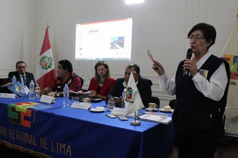 """MCLCP Región Lima realizó presentación de consulta ciudadana """"La Voz de Mi Comunidad"""" durante reunión del Comité Multisectorial de apoyo a los albergues"""
