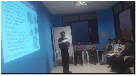 Reunión informativa sobre la implementación del Programa de Complementación Alimentaria en la emergencia