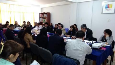 Reunión del Comité Ejecutivo de Apurímac de Julio 2017