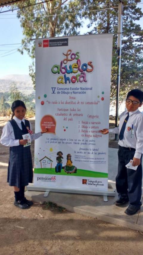 """quinta edición del concurso escolar """"Los Abuelos Ahora"""""""