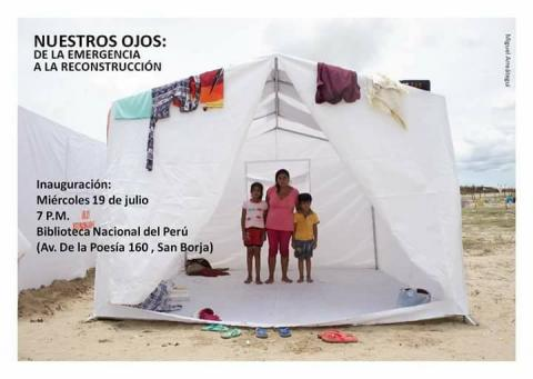 Resultados del Concurso Nuestros Ojos: De la emergencia a la reconstrucción