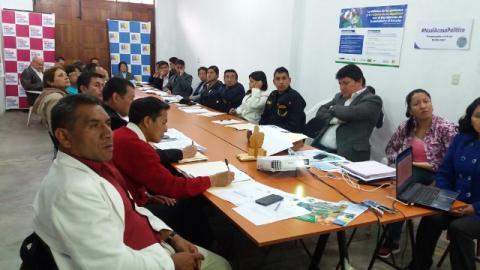 Primera reunión de la comisión de trabajo de desarrollo social