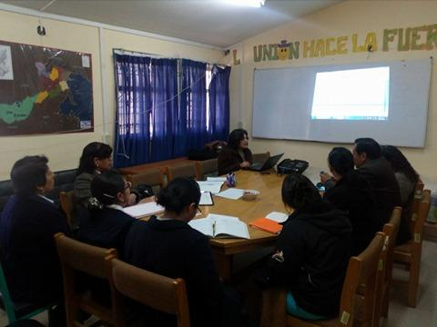 MCLCP provincial de San Román aprobó reporte de anemia