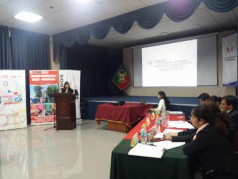 """Seminario: """"La Violencia de Género. Balance de la aplicación de Ley 30364 y su Reglamento en la Región"""""""