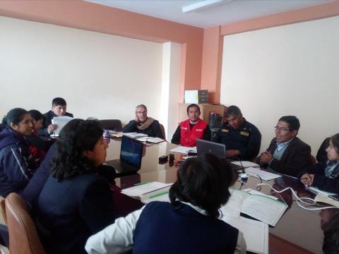 Consejo de Concertación Multisectorial de la provincia de Chucuito Juli aborda el tema de desnutrición y anemia