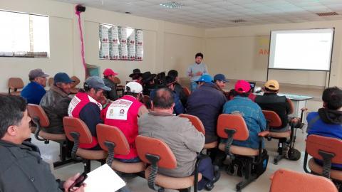 Reactivación de la Mesa de Concertación de la Provincia de Candarave