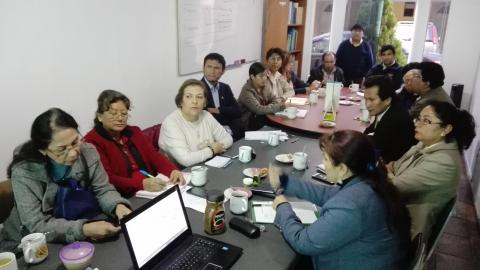Sesión ordinaria del CER de la Mesa de Concertación