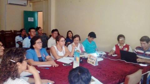 Reunión del Comité Ejecutivo Regional de la MCLCP-Ucayali