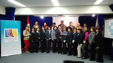Dialogo Regional de la Veeduría del Buen Inicio del Año Escolar Tacna 2017