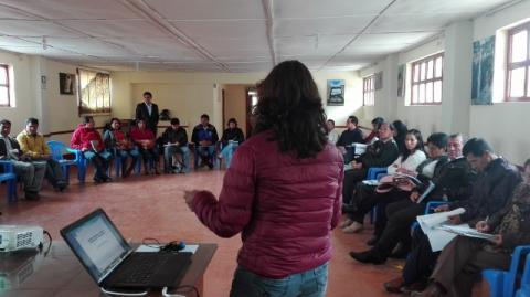 Encuentro de articulación gubernamental e interinstitucional para la lucha contra la desnutrición crónica y anemia infantil en la provincia de Luya