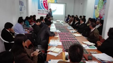 Cuarta reunión ordinaria del Comité Ejecutivo Regional de Amazonas