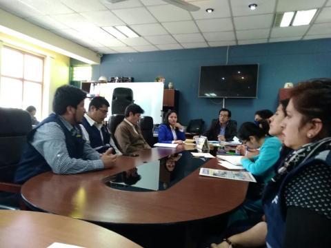 MCLCP de Apurímac participa en reunión multisectorial de salud Pública
