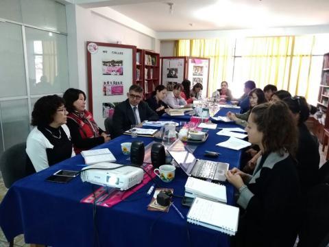 Reunión de Seguimiento Concertado Tema: Violencia hacia la mujer