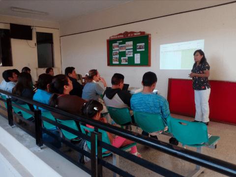 Jornada informativa en el marco de la emergencia sanitaria en el distrito de La Tinguiña
