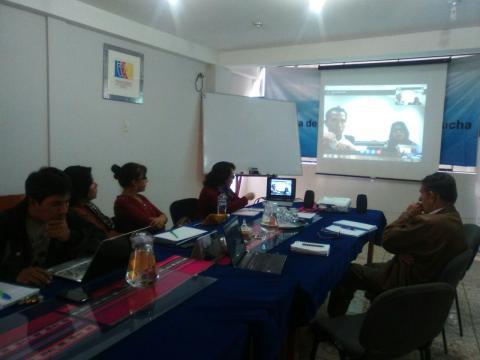 Reunión de Asistencia Técnica con el MIMP, para la Comisión de elaboración del Plan Regional de Igualdad de Género (MCLCP-Apurímac forma parte)