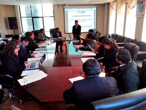 MCLCP Puno participa de la I reunión de articulación para disminuir la anemia y la desnutrición crónica infantil en la región Puno