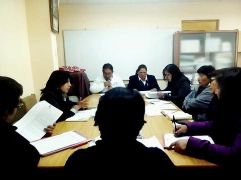 MCLCP San Román, presentó reporte en anemia