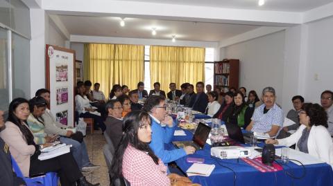 Comité Ejecutivo Regional de MCLCP aprobó los Reportes del Seguimiento Concertado