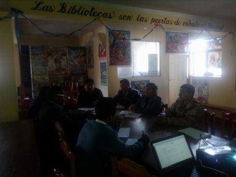 MCLCP Huancane-Puno presenta resultados de  la Evaluación Censal de Estudiantes  y recoge diagnóstico y cuellos de botella para elaborar  el reporte de seguimiento concertado de Anemia