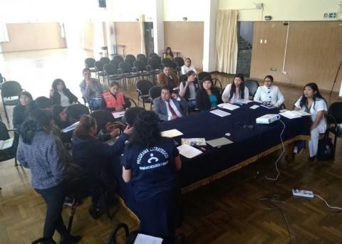 Reunión multisectorial en el marco de la promoción y Protección de la Lactancia Materna Exitosa.