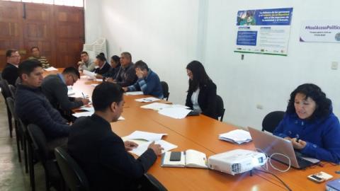 Quinta reunión de la comisión de trabajo de desarrollo social