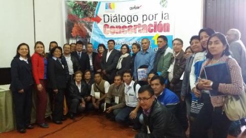 """II Diálogo por la Concertación """"Articulación Intergubernamental en la reducción de brechas y el Desarrollo Regional de Amazonas"""""""