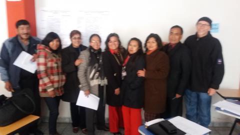 MCLCP participa en el Taller de elaboración del Plan Regional Contra la Trata de Personas